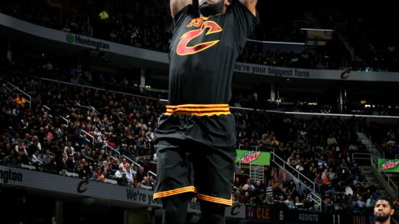 LeBron's 31 Points