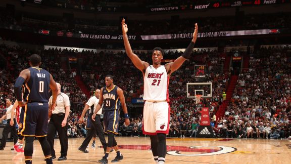 Whiteside Named Eastern Conference Player of the Week