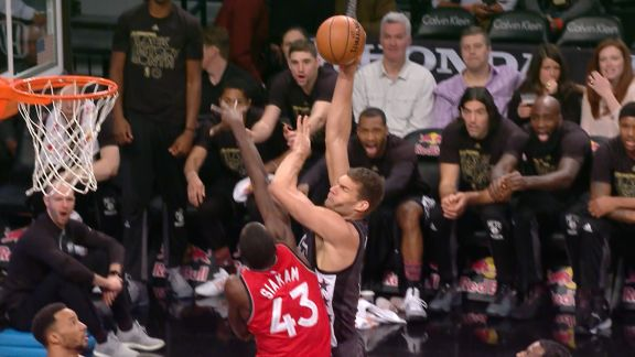 Play Of The Day:  Brook Lopez