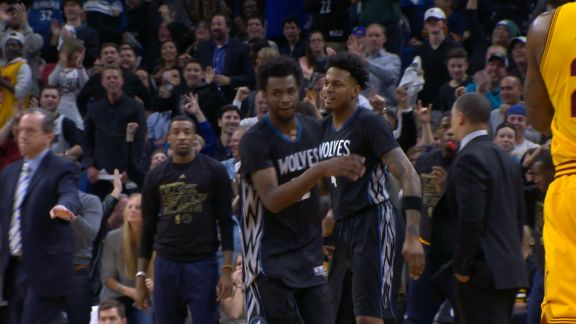 Play of the Day - Andrew Wiggins