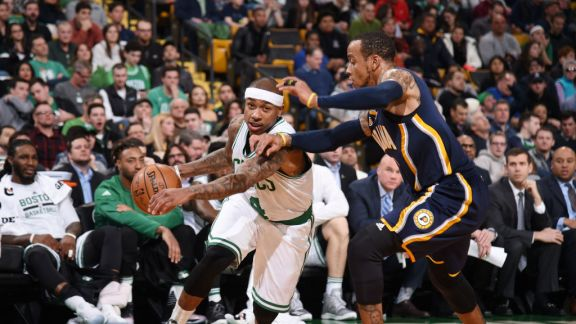 GAME RECAP: Celtics 109, Pacers 100