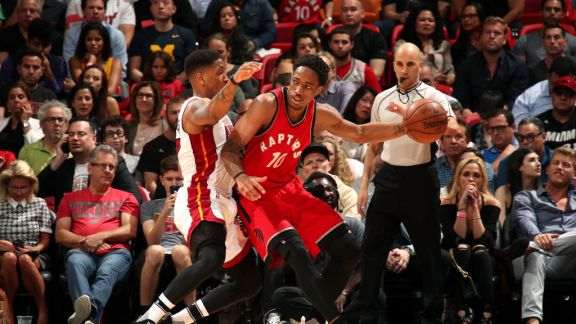 GAME RECAP: Raptors 101, Heat 84