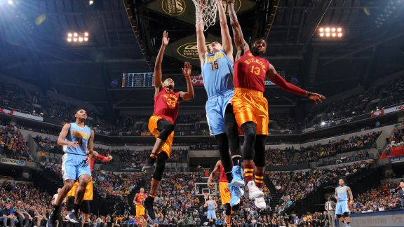 GAME RECAP: Nuggets 125, Pacers 117