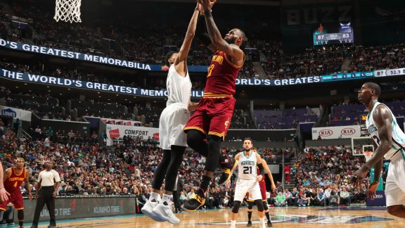 LeBron's Big Double-Double
