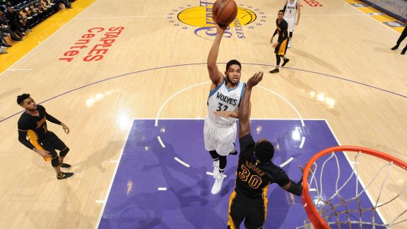 Karl-Anthony Towns' Highlights