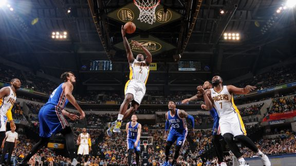 GAME RECAP: Pacers 107, Sixers 94