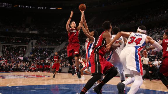 GAME RECAP: Heat 97, Pistons 96
