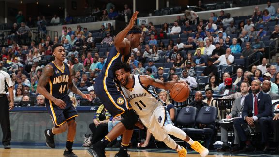 GAME RECAP: Grizzlies 110, Pacers 97