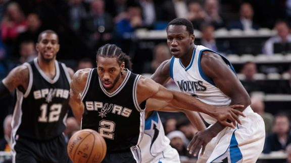GAME RECAP: Spurs 100, Timberwolves 93
