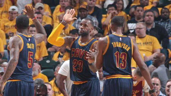 GAME RECAP: Cavaliers 119, Pacers 114