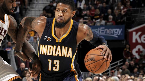 Highlights: Paul George's 43 Points