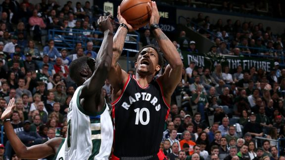 GAME RECAP: Raptors 87 - Bucks 76 | 4.22.17