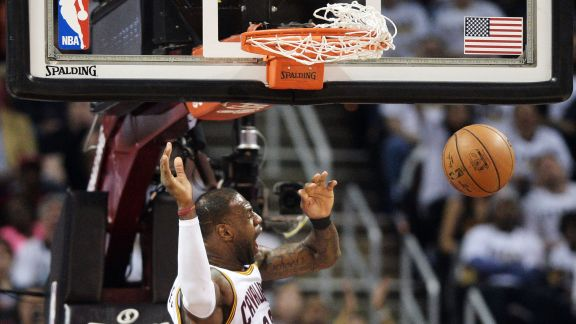 Pacers - Cavaliers Game 2: Top 5