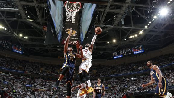 Irving's Game-High Of 37 Leads Cavaliers