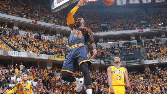 James Records a Triple-Double In Comeback Victory