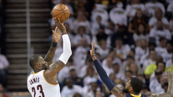 James Records a Double-Double