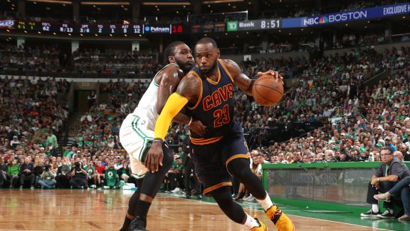 2017 Playoffs: Cavaliers-Celtics Conference Finals Series Recap