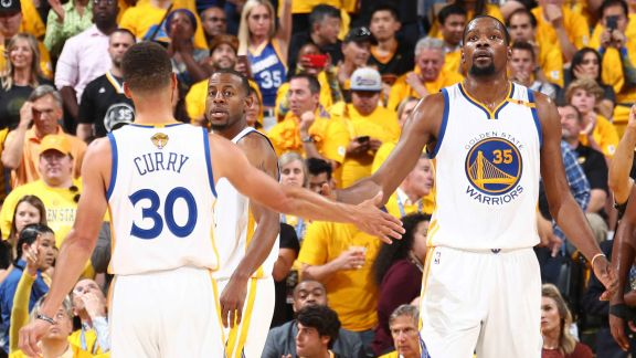 GAME RECAP: Warriors 129, Cavaliers 120