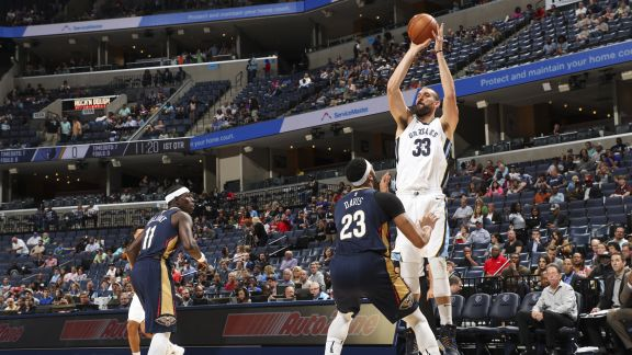 GAME RECAP: Grizzlies 142, Pelicans 101