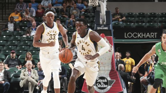 GAME RECAP: Pacers 108, Maccabi 89