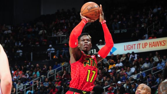 Dennis Schröder Catches Fire For 26 Points