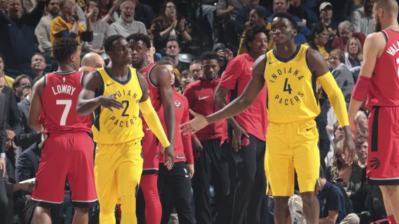 GAME RECAP: Pacers 107, Raptors 104