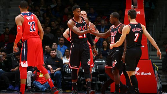 GAME RECAP: Heat 91, Wizards 88