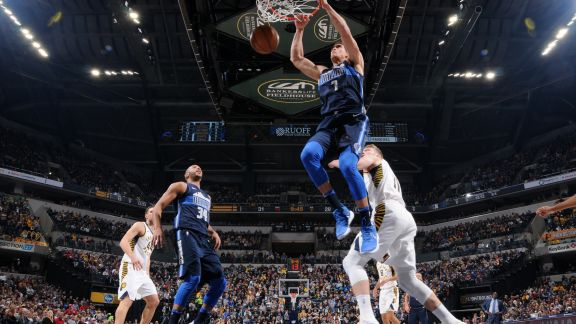 GAME RECAP: Mavericks 98, Pacers 94