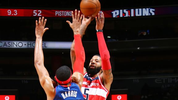 GAME RECAP: Wizards 109, Pistons 91