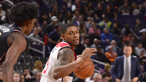 Bradley Beal's 34 Leads Wizards Over Suns