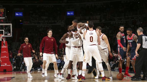 GAME RECAP: Cavaliers 106, Wizards 99