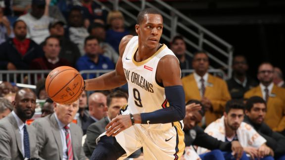 Rondo Dishes 18 Assists