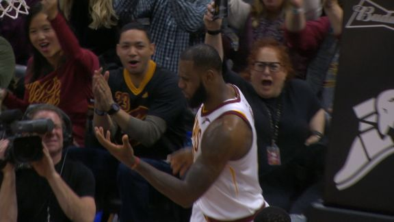Play Of The Day: LeBron James