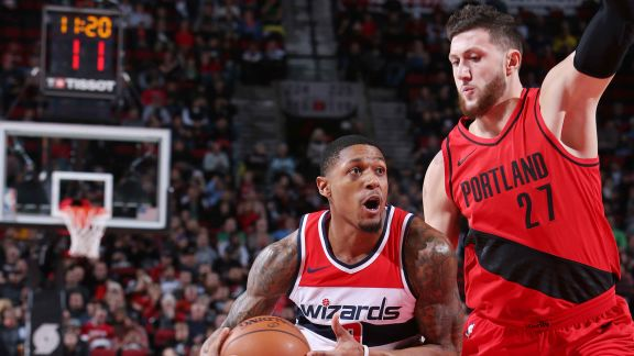 GAME RECAP: Wizards 106, Blazers 92