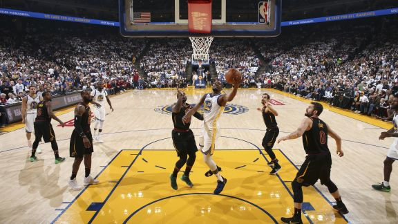 GAME RECAP: Warriors 99, Cavaliers 92