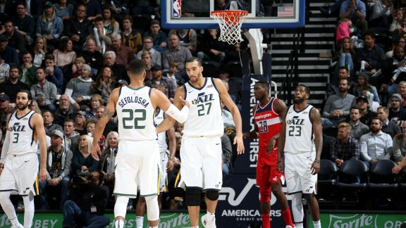 GAME RECAP: Jazz 116, Wizards 69