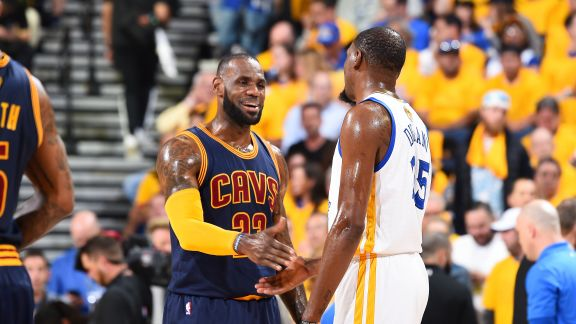 Cavaliers vs. Warriors Rematch on MLK Day