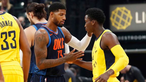 GAME RECAP: Thunder 100, Pacers 95