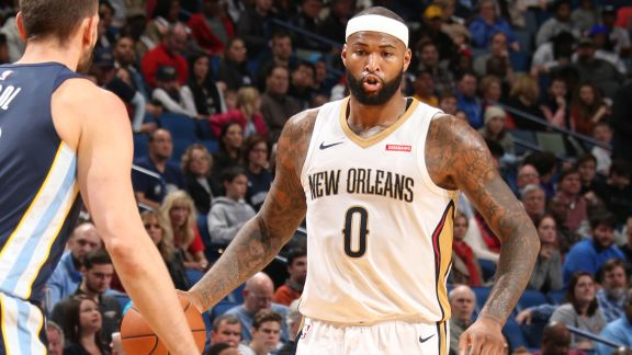 Move of the Night: DeMarcus Cousins