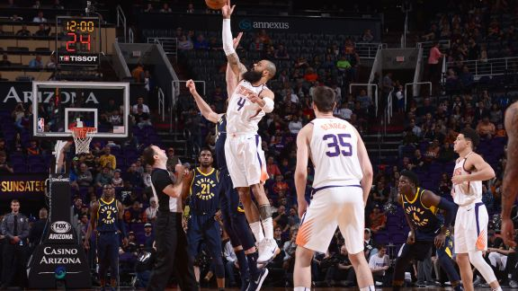 GAME RECAP: Pacers 120, Suns 97