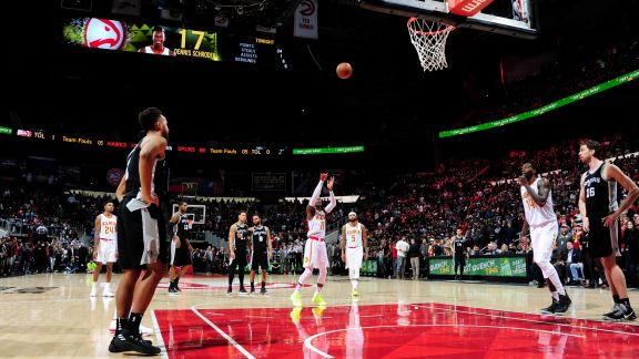GAME RECAP: Hawks 102, Spurs 99