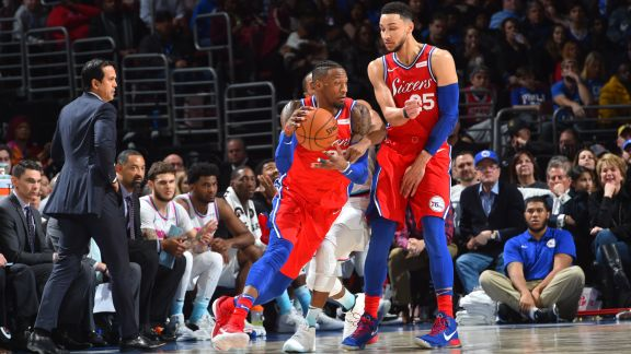 GAME RECAP: Sixers 104, Heat 102