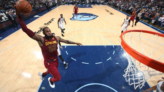 GAME RECAP: Cavaliers 112, Grizzlies 89