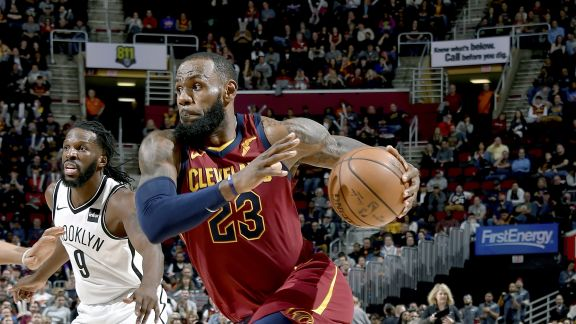 James Named Kia NBA Eastern Conference Player of the Month