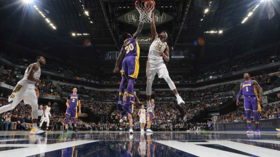 GAME RECAP: Pacers 110, Lakers 100