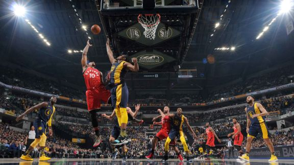 GAME RECAP: Raptors 106, Pacers 99