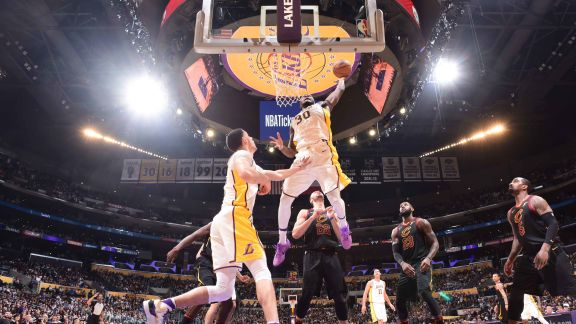 GAME RECAP: Lakers 127, Cavaliers 113