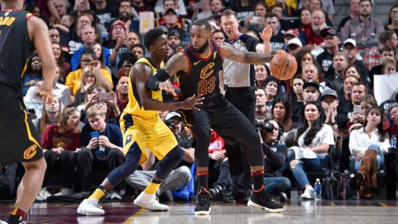 GAME 2 RECAP: Cavaliers 100, Pacers 97