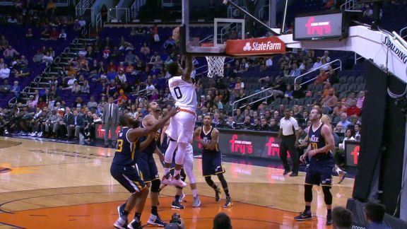 Marquese Chriss Rises for Slam Dunk vs. Jazz