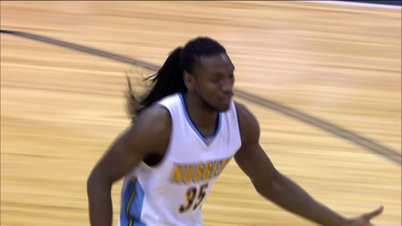 Faried Gets the Slam